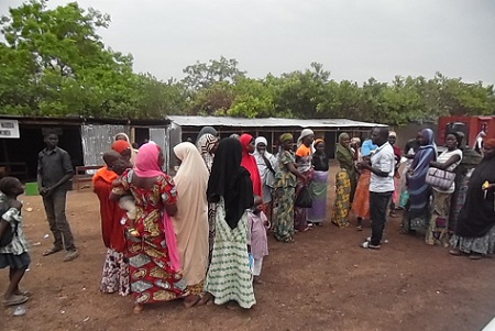 Humanitarian service to IDP camp Abuja 7